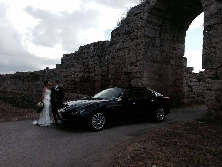 La Maserati Ghibli nasce da una combinazione perfetta di design, sportività e comfort. E' perfetta come auto da cerimonia! Richiedi un preventivo.  #luxury #weddingcar #paestum