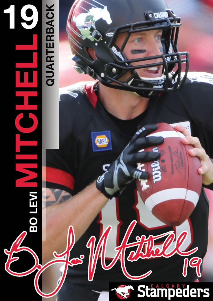 Bo Levi Mitchell | Roster | Calgary Stampeders