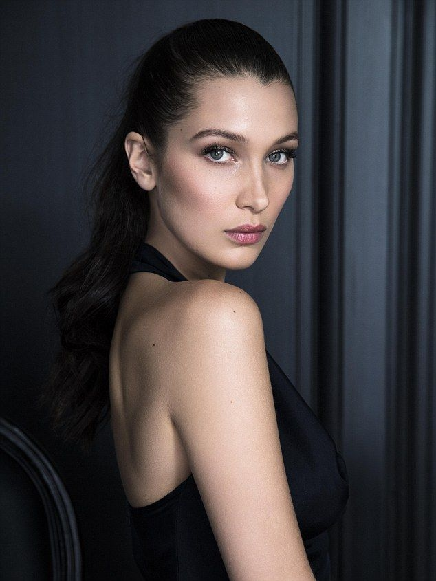 The face of beauty: Bella Hadid has been snapped up by luxury makeup brand, Dior, as one of their new ambassadors