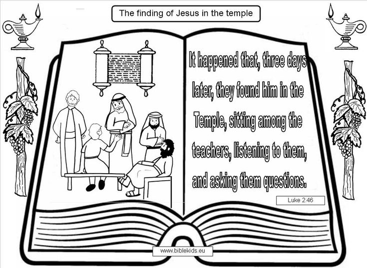 Coloring Pages Boy Jesus In The Temple : Best images about jesus in the temple years old on
