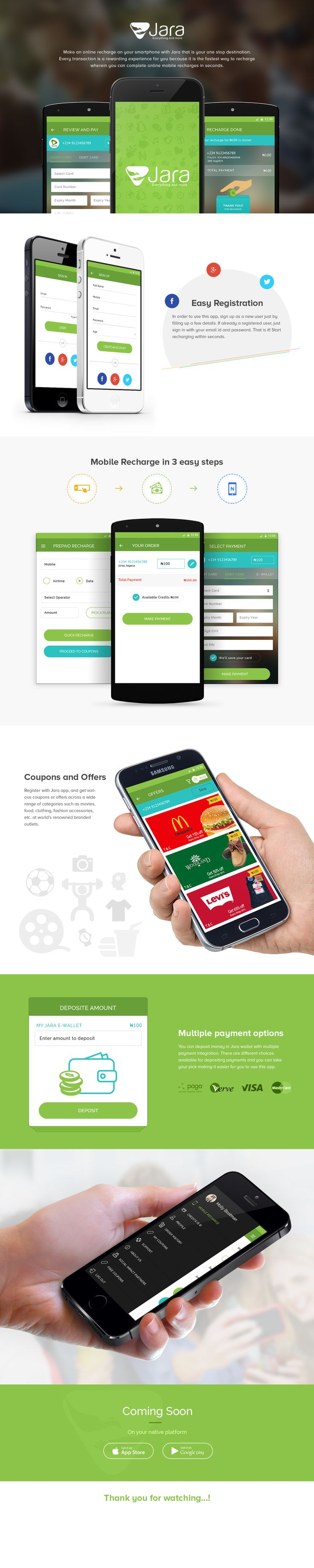 Mobile Recharge App on Behance