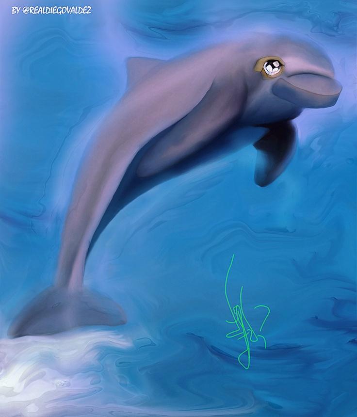 """""""Dolphin"""" by Diego Valdez"""
