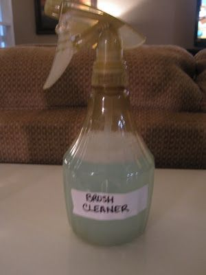 Best tips and practices on how to clean makeup brushes! Including a makeup brush cleaner recipe!