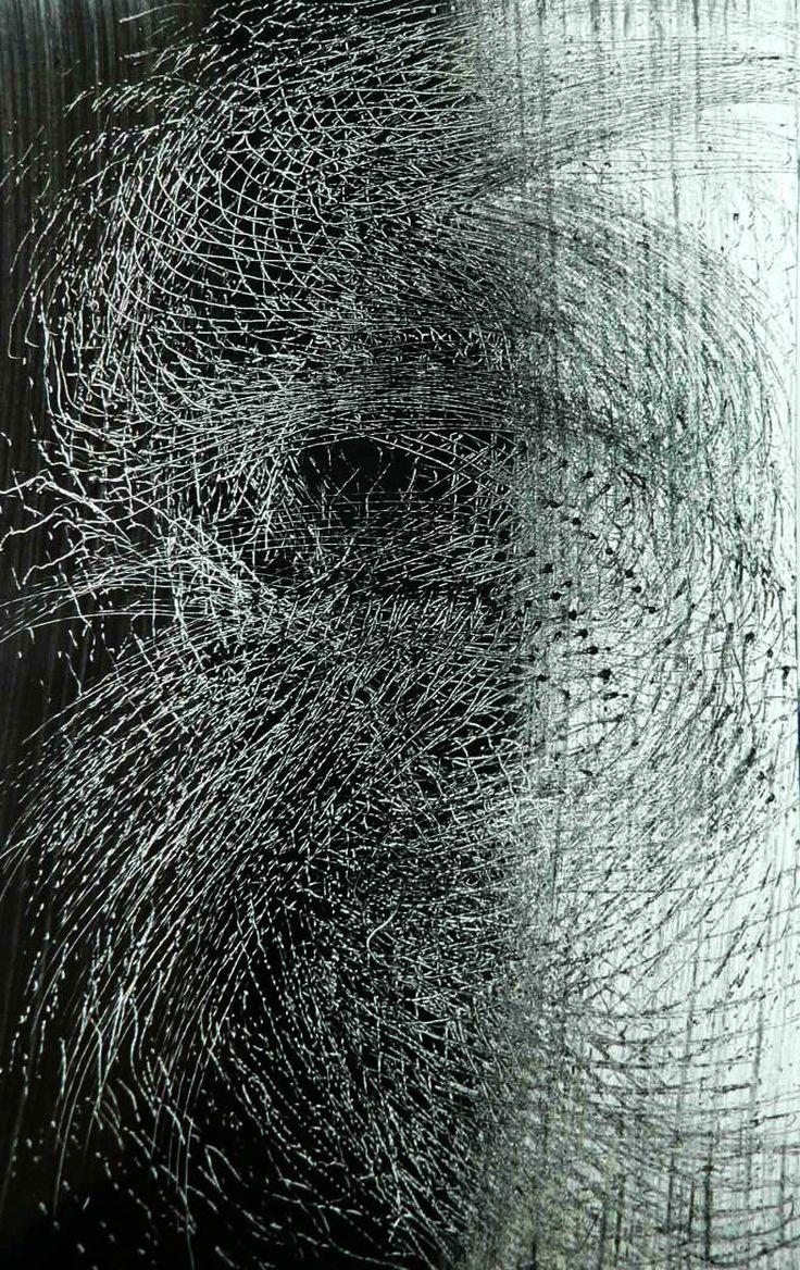 HANS HARTUNG http://www.widewalls.ch/artist/hans-hartung/  #abstract  #tachisme
