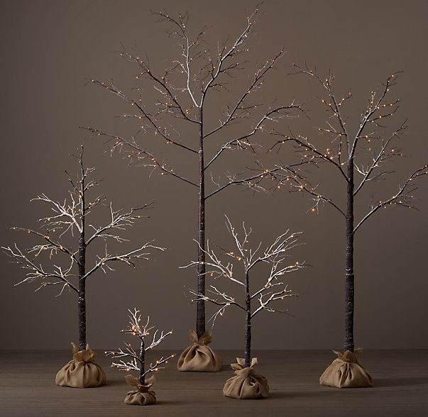 Restoration Hardware Holiday Tree Knock Off - Charming Imperfections