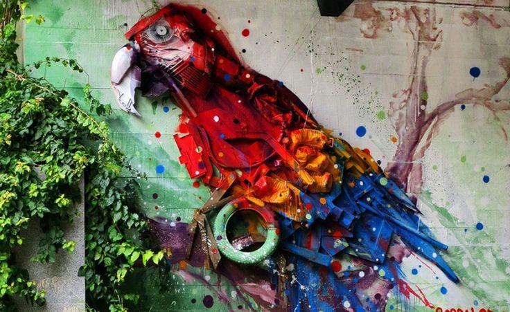 Arte spazzatura - Portogallo - The Post Internazionale