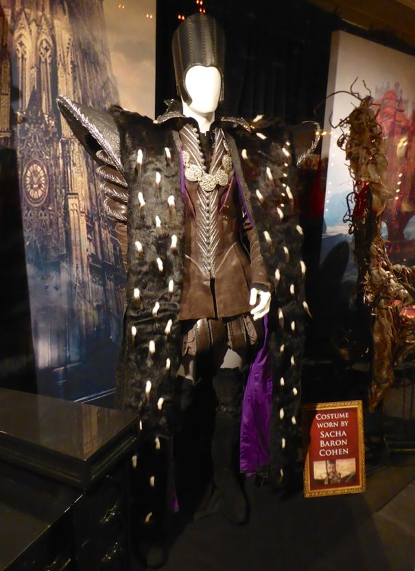 Sacha Baron Cohen Alice Through the Looking Glass Time costume