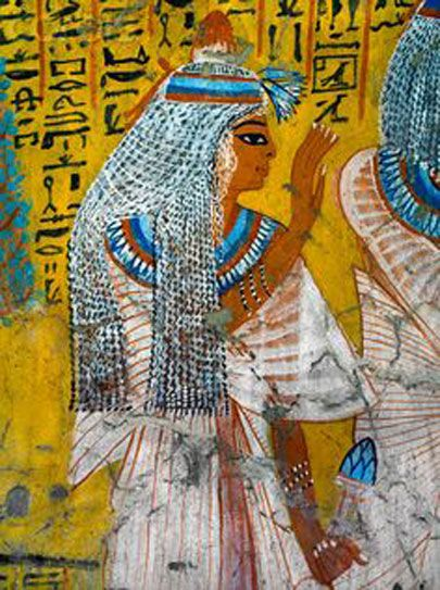 3418 best egypt then and now images on pinterest ancient for Egyptian mural paintings