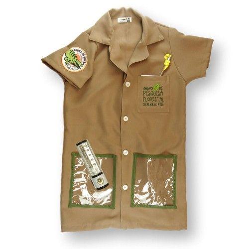 Jaleco Infantil Guarda Florestal - Savannah kids