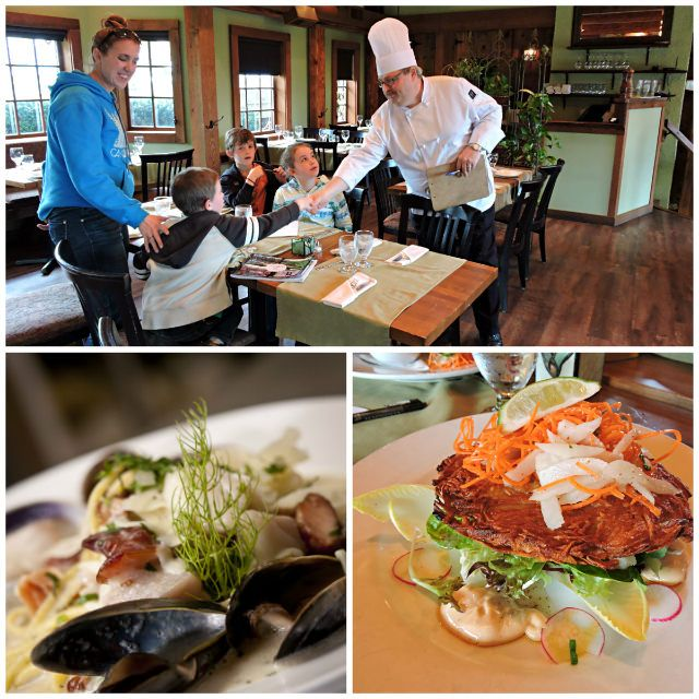 Vancouver Island, Canada. Courtenay, BC. Old House Village Hotel & Spa. Fine dining in the Comox Valley at Locals Restaurant #explorebc