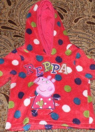 Kup mój przedmiot na #vintedpl http://www.vinted.pl/odziez-dziecieca/dziewczynki-swetry-i-bluzy/12043849-polarek-ze-swinka-peppa-george-9-12-miesiecy-74cm80cm