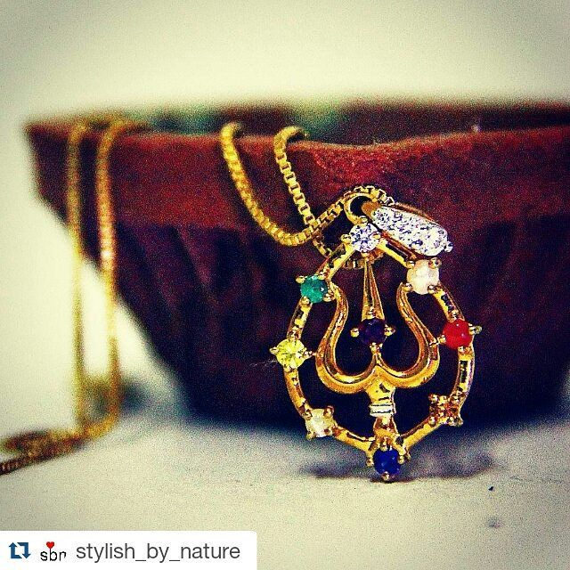 #recreatingtraditions with the Navratnam Collection. link to shop in bio!  #Repost @stylish_by_nature with @repostapp ・・・ Celebrating auspicious days of navratri with this stunning and powerful piece from @bluestone_com's Navratnam collection!  See for yourself {Link in the bio} #jewellery #navratri #indian #ethnic #happy #desi #festival #diamond #awesome #golden #gold #yummy #instagood #instadaily #picoftheday #bestoftheday #india #wow #ethnic