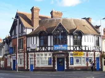 The Festing in Southsea is a Victorian pub designed by A H Bone and built near to the long defunct East Southsea Railway Station.