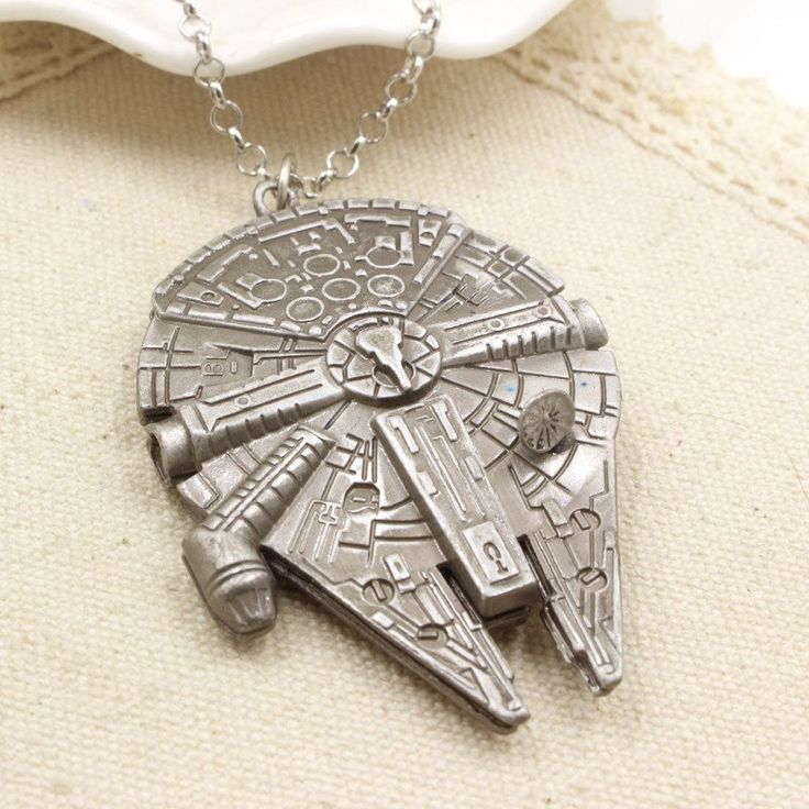 Get This Star Wars Millennium Falcon Necklace and let the world know you're a…