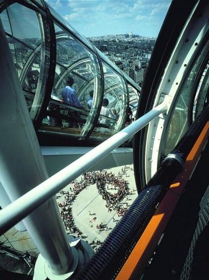Centre Pompidou  Escalators