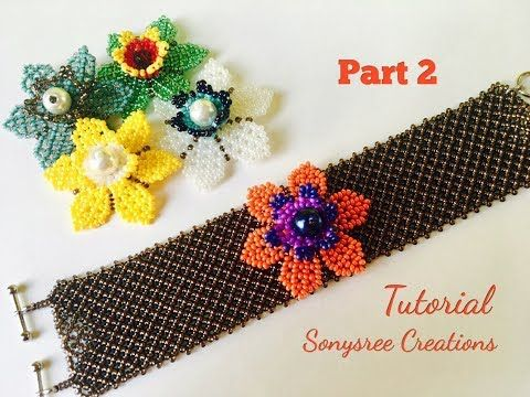 5 in 1 Summer Beaded Bracelet (part 1)  Mexican Huichol Beading - YouTube