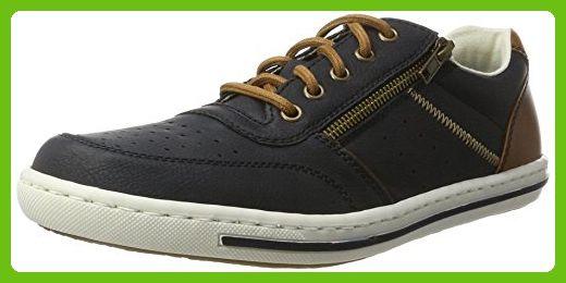 Rieker mens Low shoes oean/amaretto size 47.0 EU