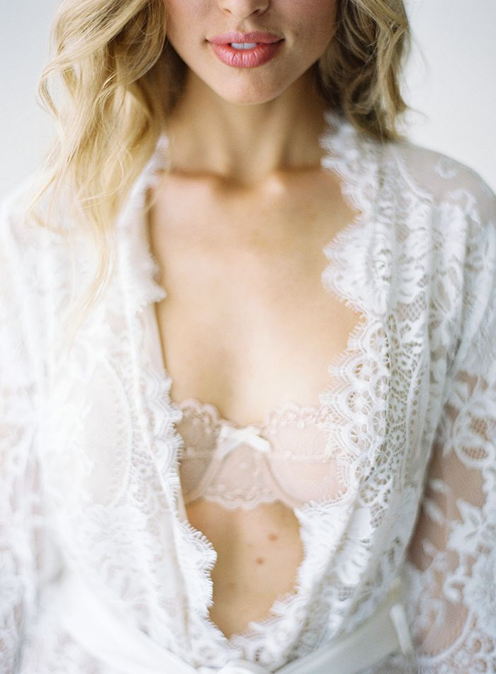 Delicate Bridal Boudoir from Jose Villa