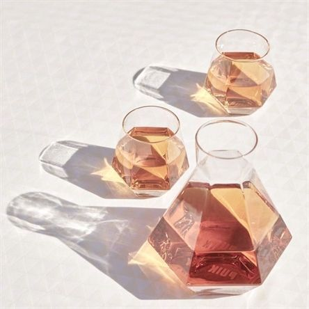 Radiant Crystal Glass Set