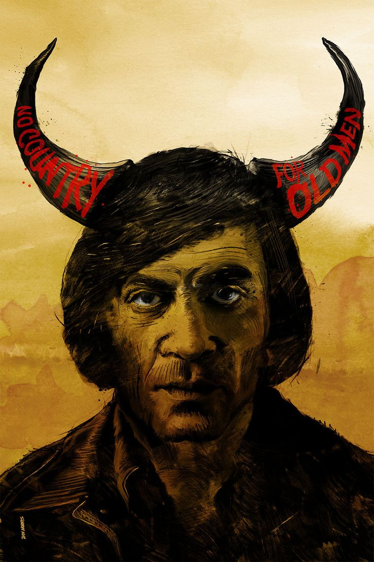 No Country For Old Men 2007 Alternative Movie Poster By Daniel