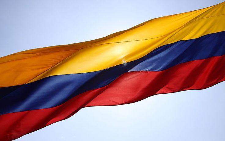 Los hermosos colores de la Bandera de Colombia