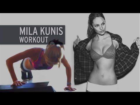 The Mila Kunis Workout