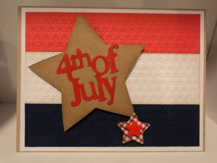 Patriotic Stars Card: Cards Patriotic, July Cards, Candee Porter, Military Patriotic, Patriotic Cards, Card Ideas, Star Cards, Patriotic Stars, Card Corner