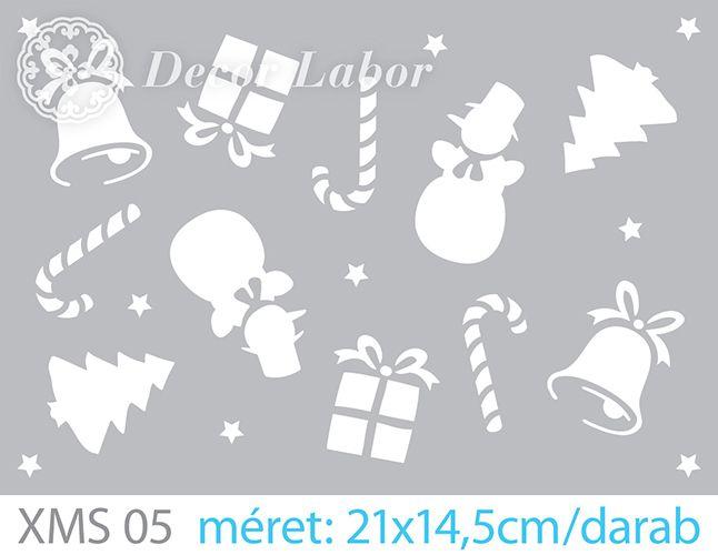 christmas stencil / karácsonyi sablon http://decorlabor.hu/
