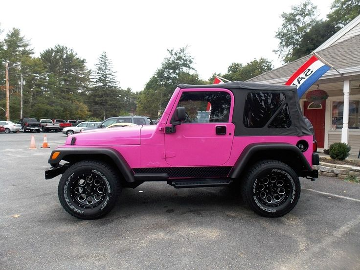 2002 Pink Jeep Wrangler Sport 13,998 Cars for sale