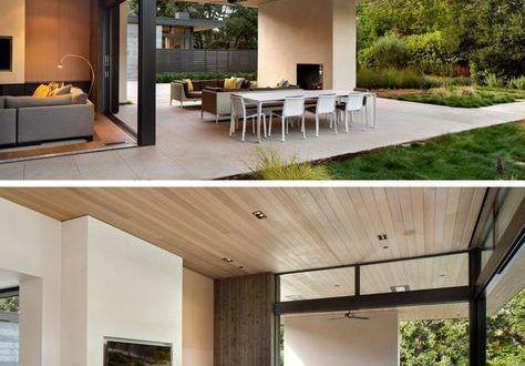 Dieses #Moderne #Haus #wurde #entworfen #zu #ermöglichen # Innen-  #Zimmerdecke