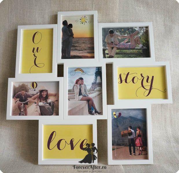 Mesaj in rama cu fotografii | Accesorii nunta - Mesaje | ForeverAfter.ro