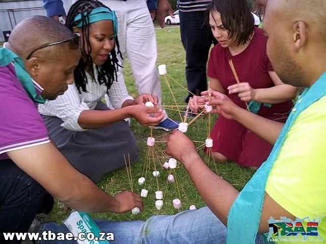 Engen SA Mini Olympics Team Building Event in Stellenbosch Cape Town