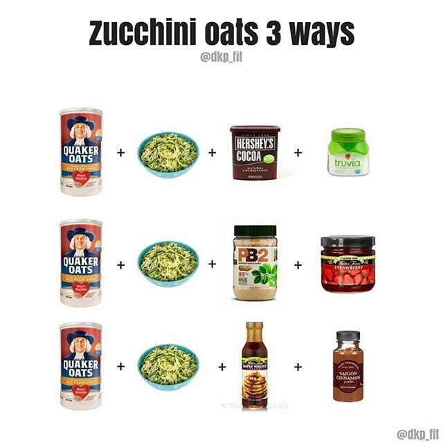 Lately, I've been having zucchini oats as part of my breakfast. It's a great way to sneak in a veggie (for the micronutrients and fiber) without really tasting it, and a good way to add some volume to the oats. I leave a bag of grated zucchini in the fridge, so when I'm ready to have breakfast, I can just scoop some out and cook it into my oats. • It tastes ok plain, but if you follow my stories you've probably seen me add some different mix-ins to make it a little more interesting. • Here…