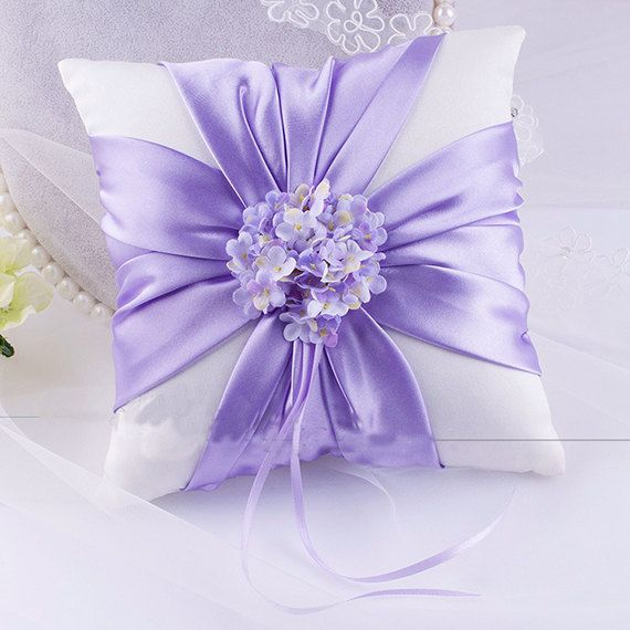 Lavender ring bearer pillow,  Lavender lace ring bearer pillow, wedding ring pillow