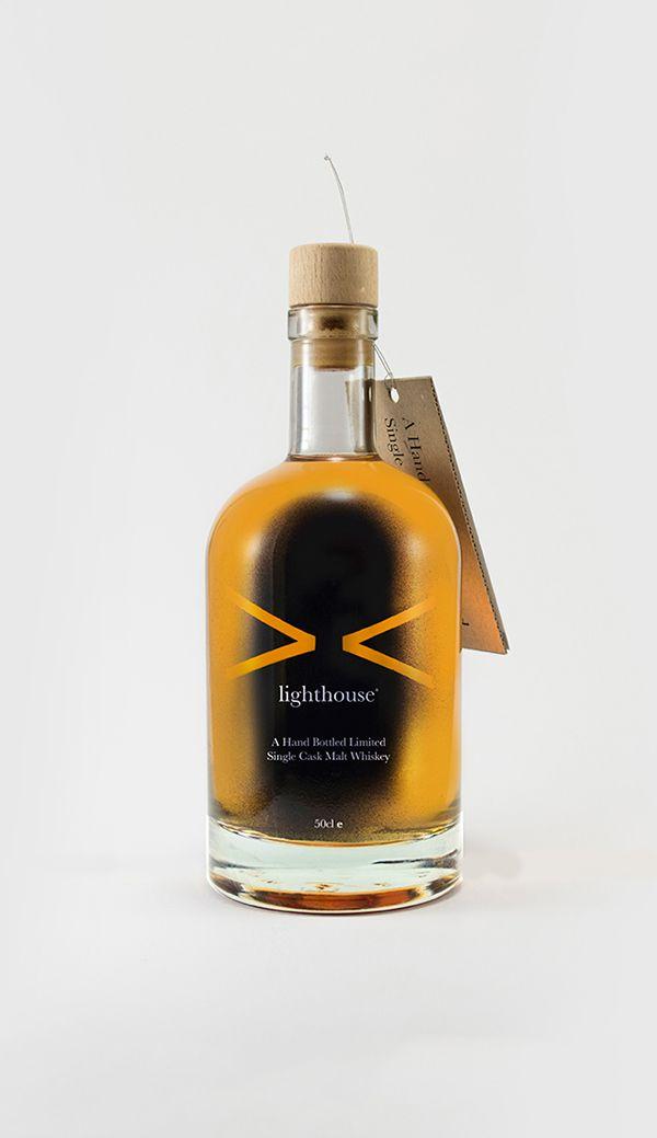 lighthouse / Single Cask Malt Whiskey on Behance