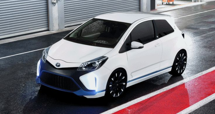 Concept Flashback 2013 Toyota Yaris Hybrid R Previews