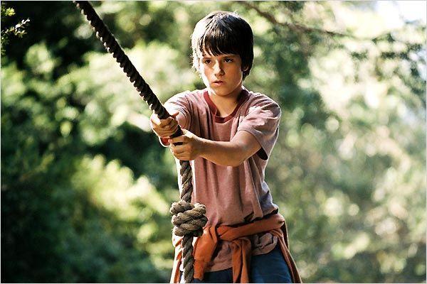 "Josh Hutcherson in ""Brücke nach Terabithia"""