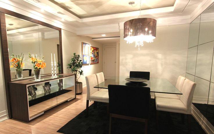 Construindo Minha Casa Clean: 21 Salas de Jantar dos Sonhos com Buffet ou…