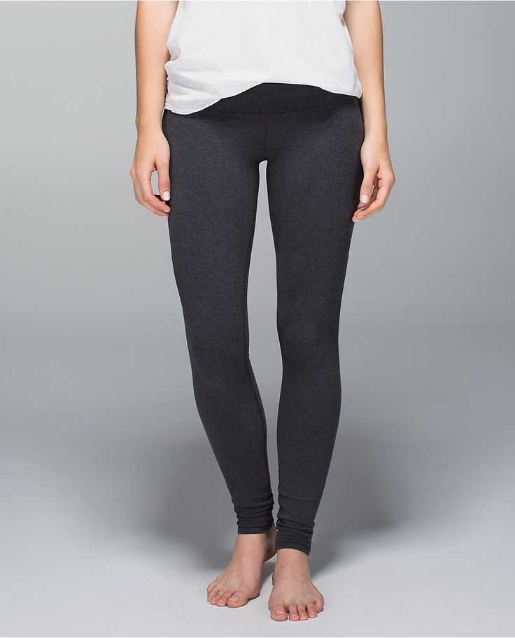 lululemon Wunder Under Pant (Roll Down) *Cotton  Found on my new favorite app Dote Shopping #DoteApp #Shopping