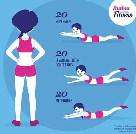 Top 25 best ejercicios espalda en casa ideas on pinterest - Ejercicios yoga en casa ...