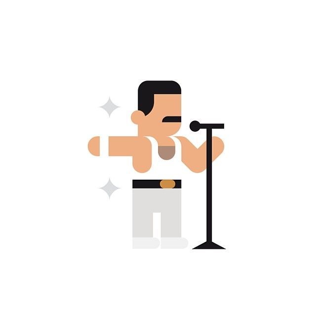 Freddie Mercury ✨ #freddiemercury #queen #80s #rock
