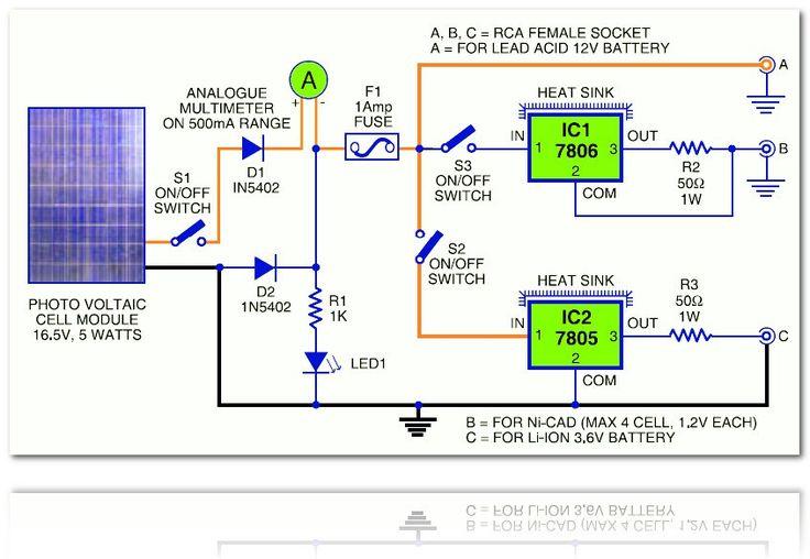 F Cca Bf B A Fbe on Solar Panels Voltage Regulator Circuit Diagram