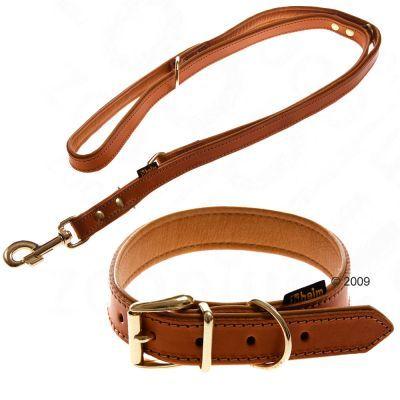 Heim Lederen Halsband En Showlijn Buffalo Lijn En Halsband 55 Cm