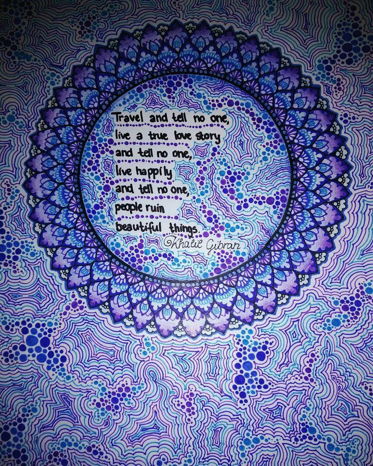 Mandala drawing by Anna Szabó Instagram: szabo_anna_k