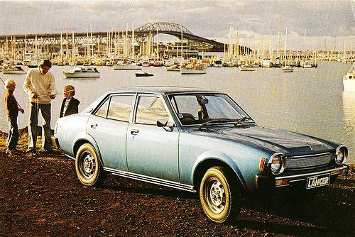 Mitsubishi Lancer Sedan, 1978