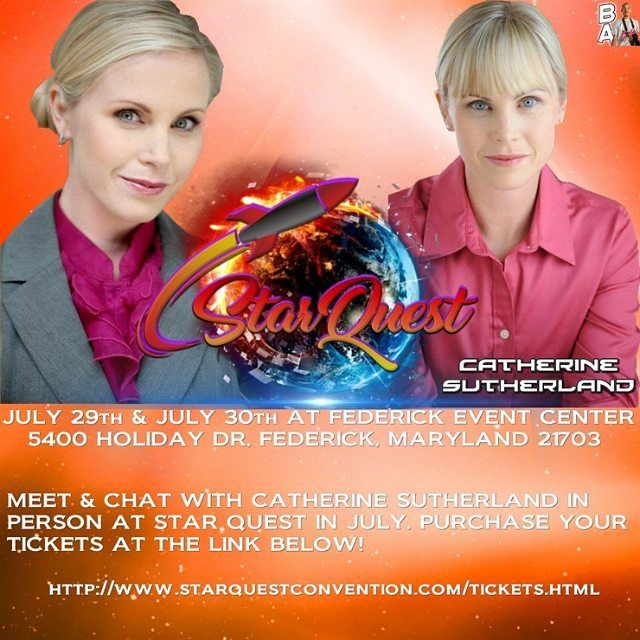 """It's time to Shift Into The Stars."" @catherine_sutherland is coming to the Star Quest Convention in July.  Follow @catherine_sutherland and find her on Facebook.  #beatmaticartwork #beatmaticsupports #trentonnjpromoter #powerrangers #mightymorphinpowerrangers #mightymorphin #mightymorphing #mmpr #powerrangerszeo #powerrangersturbo #itsmorphingtime #pinkranger #pinkrangerkat #CatherineSutherland #katherine #actorlife #tvactor #television #theordermovie #convention #femaleempowerment…"