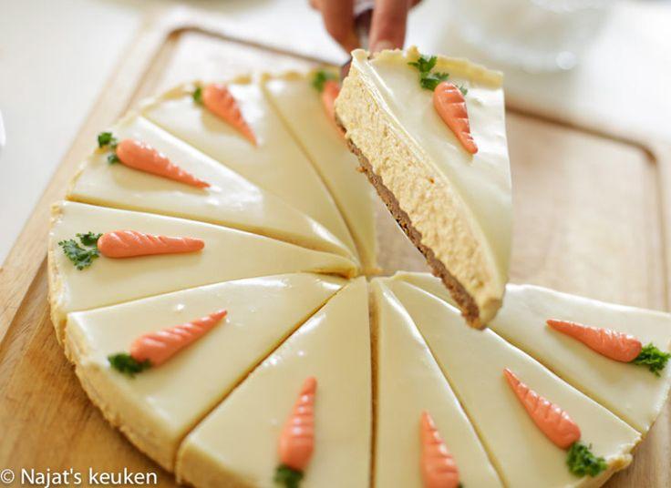 De naam wortel cheesecake verklapt het al. Cheesecake van wortel! Als je de wortel cake lekker vindt dan ga je deze cheesecake heerlijk vinden. Het is zo smaakvol, romig en onwijs lekker, just the…