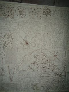 Quilts and More: vrij machinaal quilten