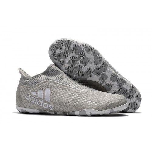 Adidas Fußballschuh Reduziert Adidas X Tango 17 Purespeed IC Grau Weiß