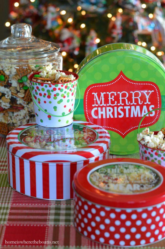 Season\u0027s Eatings and Easy Food Gift Christmas Popcorn Crunch